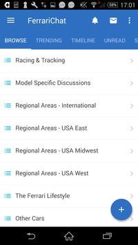 FerrariChat.com apk screenshot