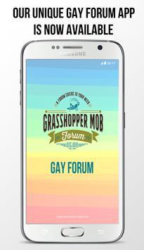 Grasshopper Mob : Gay Forum poster