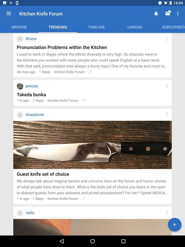 kitchen knife forum apk - Kitchen Knife Forums