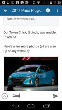 PriusChat apk screenshot