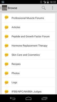 Professional Muscle Forum screenshot 1