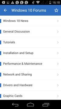 Ten Forums screenshot 1