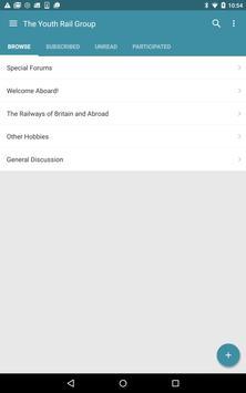 The Youth Rail Group apk screenshot
