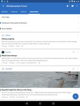 Lake Winnipesaukee Forum apk screenshot