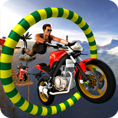 Bike Tricky Stunts Game 2018 icon