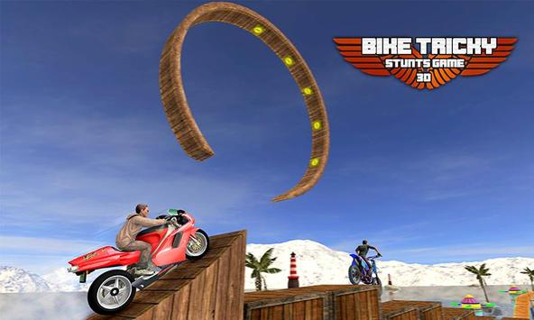 Bike Tricky Stunts Game 2018 screenshot 3
