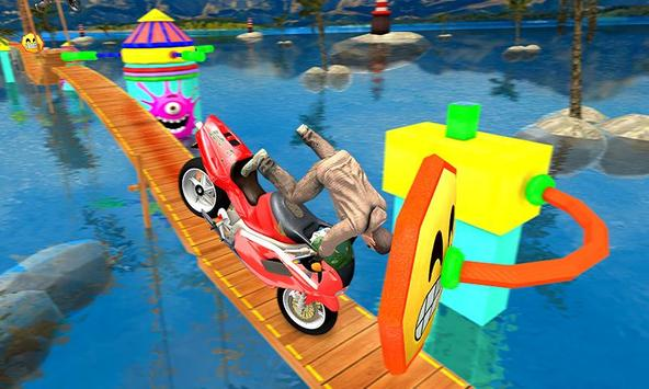Bike Tricky Stunts Game 2018 screenshot 1