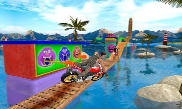 Bike Tricky Stunts Game 2018 screenshot 2