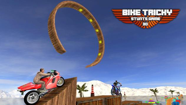 Bike Tricky Stunts Game 2018 screenshot 7