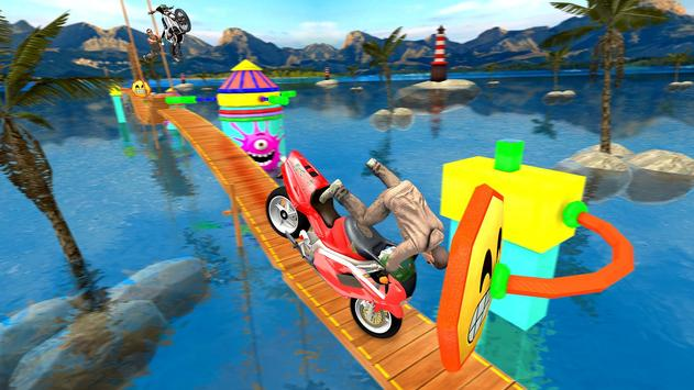 Bike Tricky Stunts Game 2018 screenshot 5