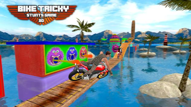 Bike Tricky Stunts Game 2018 screenshot 6