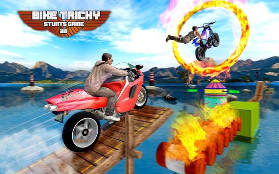 Bike Tricky Stunts Game 2018 screenshot 8