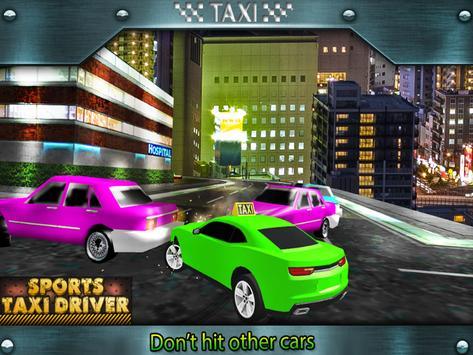 Sports Taxi Driver 2017 apk screenshot