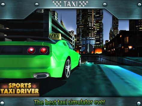 Sports Taxi Driver 2017 screenshot 13