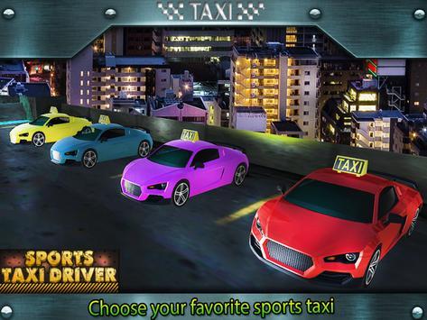 Sports Taxi Driver 2017 screenshot 2