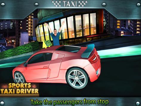 Sports Taxi Driver 2017 screenshot 3