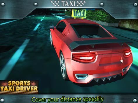 Sports Taxi Driver 2017 screenshot 5