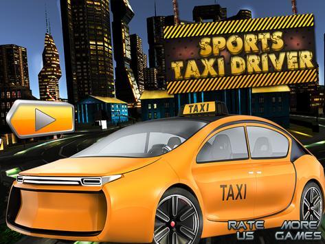 Sports Taxi Driver 2017 screenshot 7