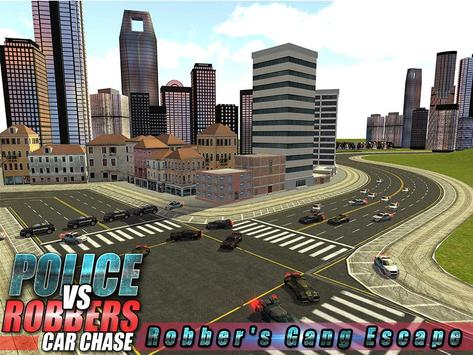 Robber Crime Driver Escape 3D screenshot 13