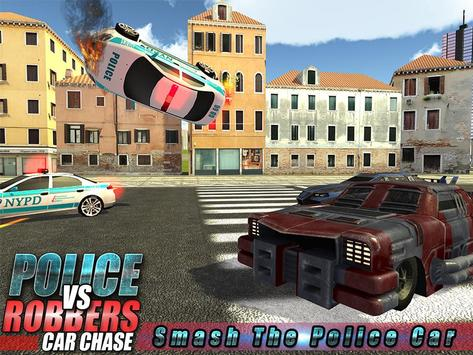 Robber Crime Driver Escape 3D screenshot 10