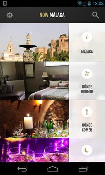 Now Málaga - Guía de Málaga poster