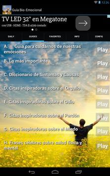 Guía Bio Emocional apk screenshot