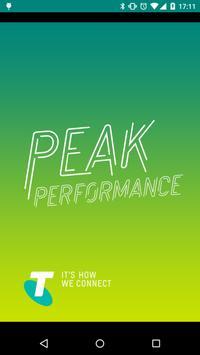 PEAK PERFORMANCE 2015 poster