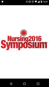 Nursing Symposium Spring 2016 poster