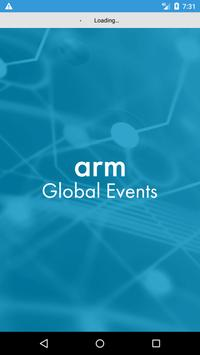 Arm Global Events poster