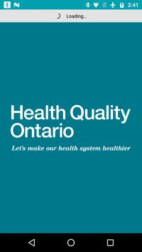 Health Quality Ontario Events poster