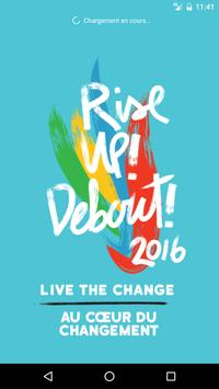 CLC Rise Up! 2016 poster