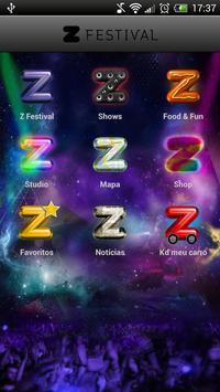 Z Festival apk screenshot