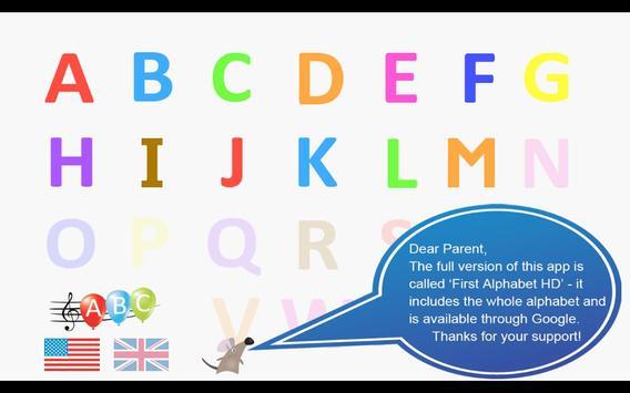 First Alphabet HD Lite poster