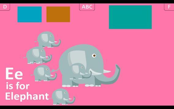 First Alphabet HD Lite apk screenshot