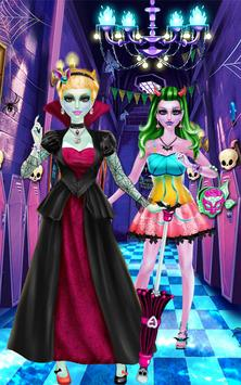 Monster Girl's Crazy Makeover apk screenshot