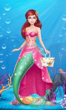 Princess Mermaid- Beauty Salon screenshot 12