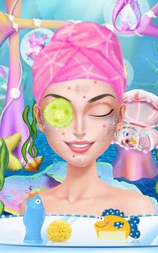 Princess Mermaid- Beauty Salon screenshot 5