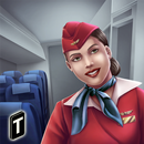 Airplane Flight Attendant -Career Job Sim APK
