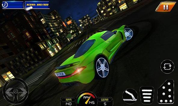 NY City Car Drift Simulator poster