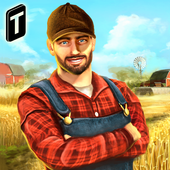 Town Farmer Sim - Manage Big Farms icon