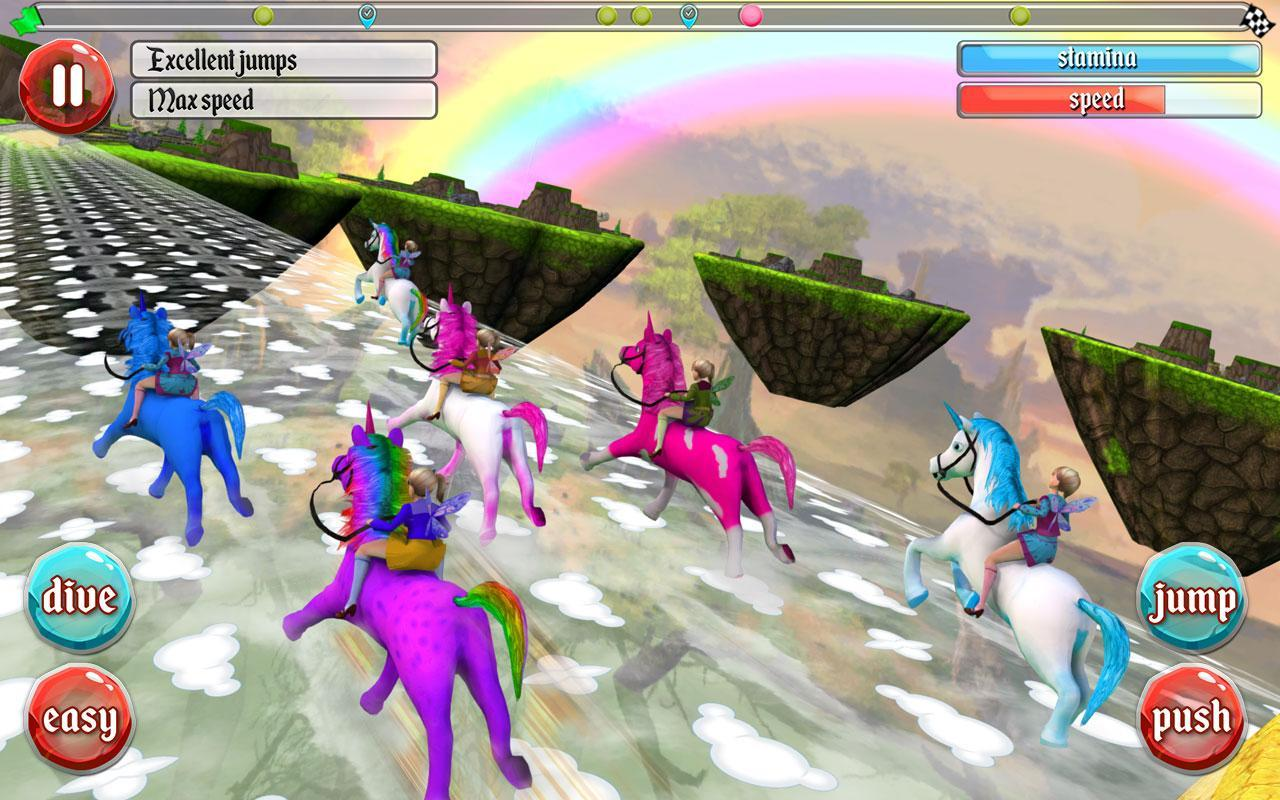 Ultimate Unicorn Dash 3D for Android - APK Download