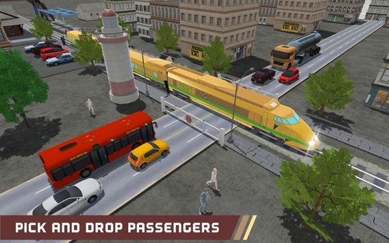 Train Simulation Free Ride 3D: train games poster