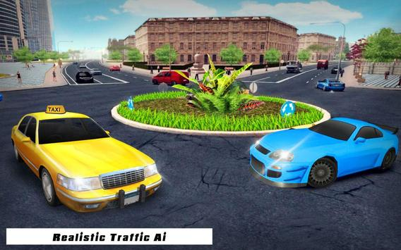 City Taxi Cab Driving 2017 apk screenshot