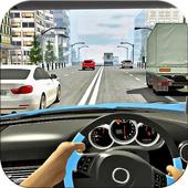 Traffic Car Racer Simulator 3d icon