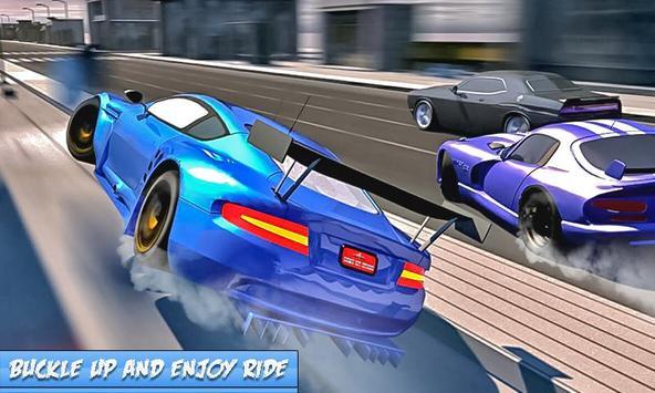 Traffic Car Racer Simulator 3d poster
