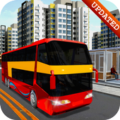 City Coach Bus Transport Simulator: Bus Games icon