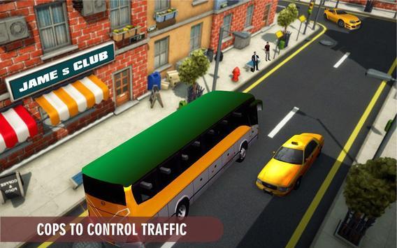 City Coach Bus Transport Simulator: Bus Games screenshot 12