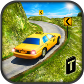 Taxi Driver 3D : Hill Station 图标