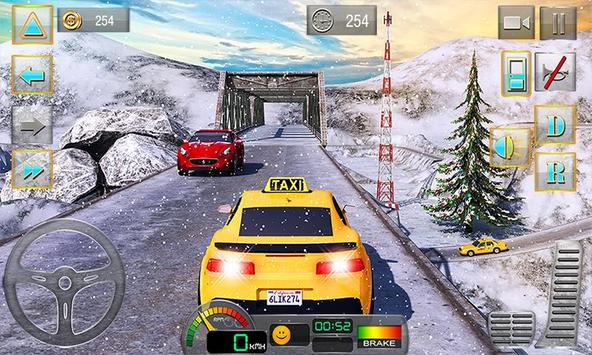 Taxi Driver 3D : Hill Station 海报