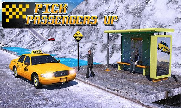 Taxi Driver 3D : Hill Station 截图 2